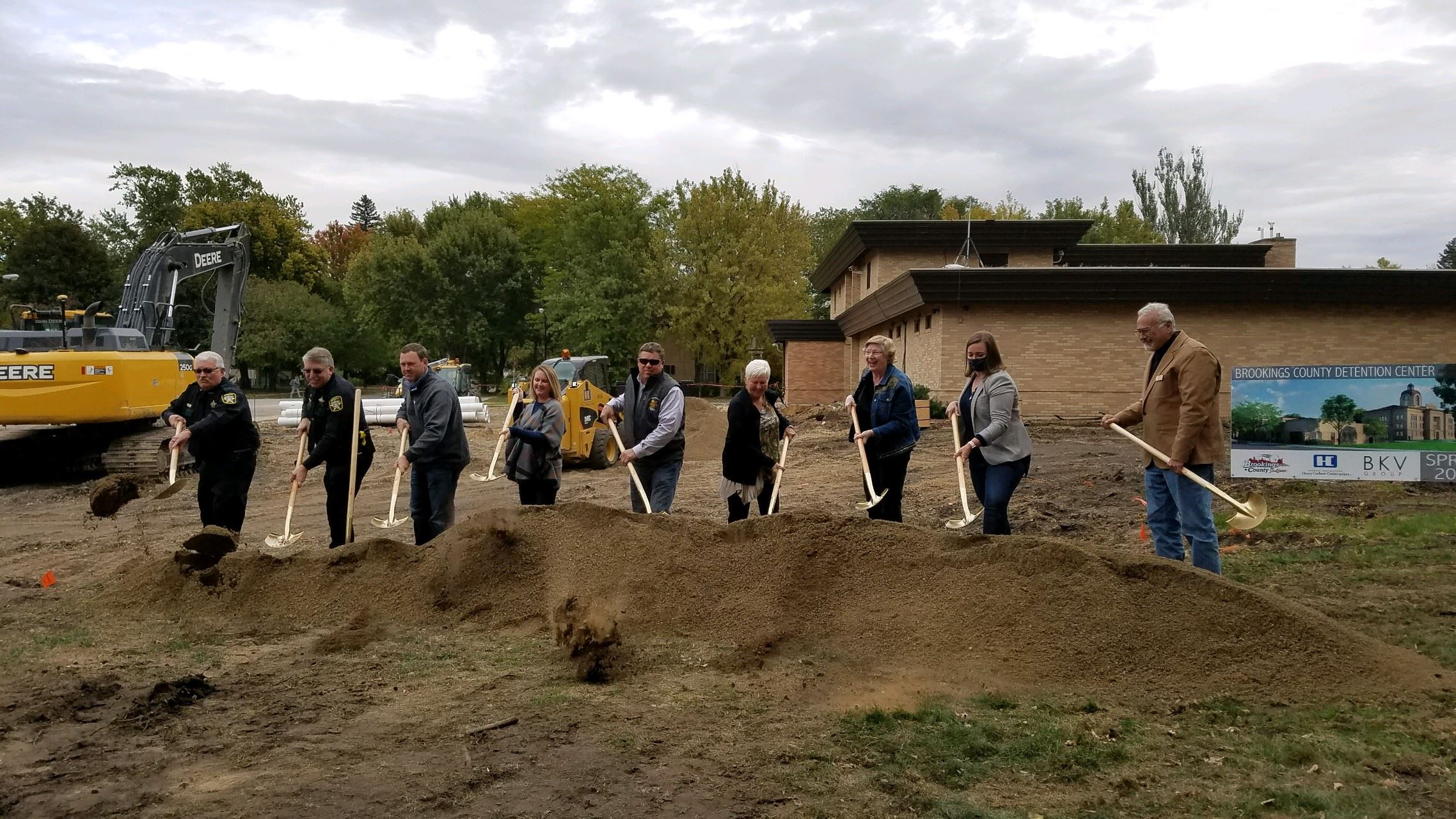 Image of Ground Breaking Ceremony for the Brookings County Jail Expansion and Remodel Project